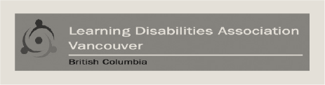 Learning Disabilities Association Vancouver