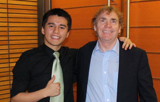 James Tan and Gavin Reid