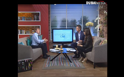 Dr Gavin Reid on Dubai Media